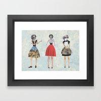 Dress envy Framed Art Print