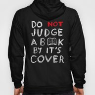 Do Not Judge A Book By I… Hoody