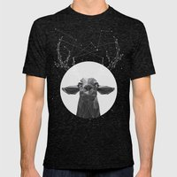 The Banyan Deer Mens Fitted Tee Tri-Black SMALL
