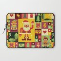Christmas Geometric Pattern No. 1 Laptop Sleeve