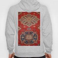 Natural Dyed Handmade Anatolian Carpet Hoody