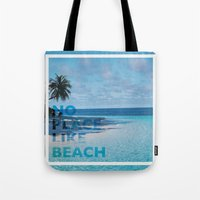 NO PLACE LIKE BEACH Tote Bag