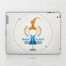 The Egotists (Black Sicklebill) Laptop & iPad Skin