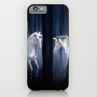 White Unicorns iPhone 6 Slim Case