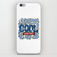 COOL STORY BRO iPhone & iPod Skin