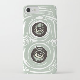 Clear iPhone Case - Surreal Lens - Thomcat23