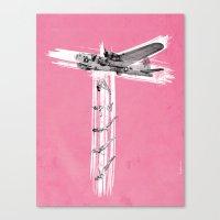 Bombs Away! Canvas Print