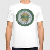 Earth Mens Fitted Tee White SMALL