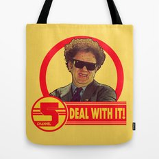 DEAL WITH IT! | Channel 5 | Brule Tote Bag