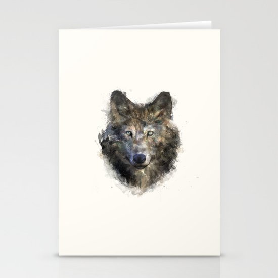 Wolf // Secure Stationery Card