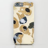 iPhone & iPod Case featuring Finding Warmth Together by kozyndan