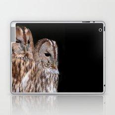 Tawny Owls in Nature Laptop & iPad Skin