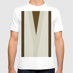 The Trainer SMALL Mens Fitted Tee White