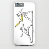 iPhone & iPod Case featuring Parry Thrust Pencil Erase by WanderingBert / David Creighton-Pester
