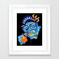 Spike. Framed Art Print