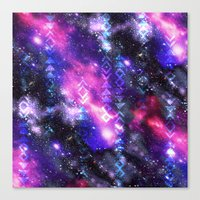 Tribal Galaxy Canvas Print