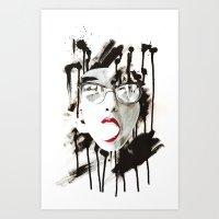 The Ghost Art Print