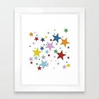 Stars Multi Framed Art Print