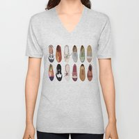 Oxfords Unisex V-Neck