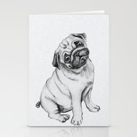 Pug Stationery Cards