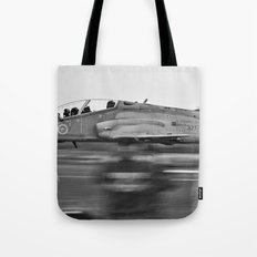 Coming Into Land Tote Bag