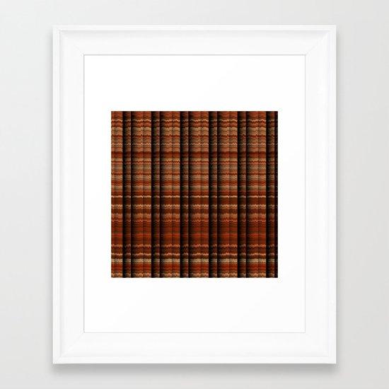 Pillars of Time Framed Art Print