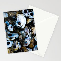 Shells, shucked  Stationery Cards