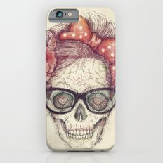 Hipster Girl is Dead Slim Case iPhone 6s