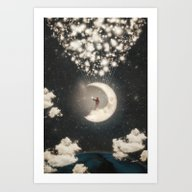 The Big Journey Of The M… Art Print