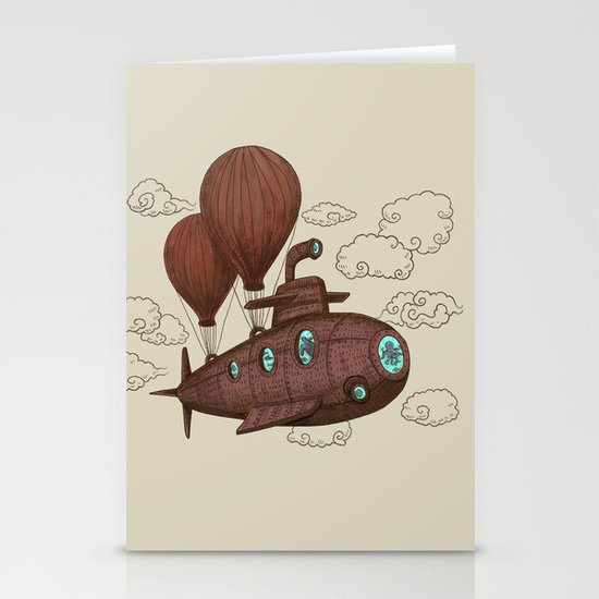 The Fantastic Voyage Stationery Card