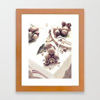 Fruit Still Life - Fine … Framed Art Print
