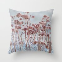 A Gentle Whisper Throw Pillow