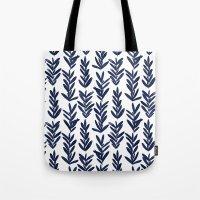 Sage - Indigo Tote Bag