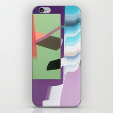 Split and Twist iPhone & iPod Skin