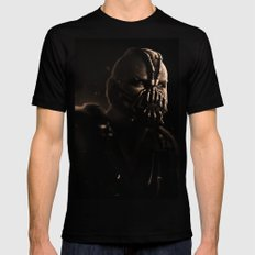 GOTHAM'S RECKONING S  Black Mens Fitted Tee SMALL