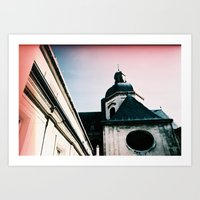 Paris: Eglise Saint Paul… Art Print