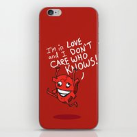 Foolish Heart iPhone & iPod Skin