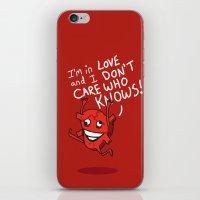 Foolish Heart iPhone & iPod Skin