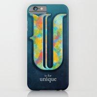 U Is For Unique iPhone 6 Slim Case