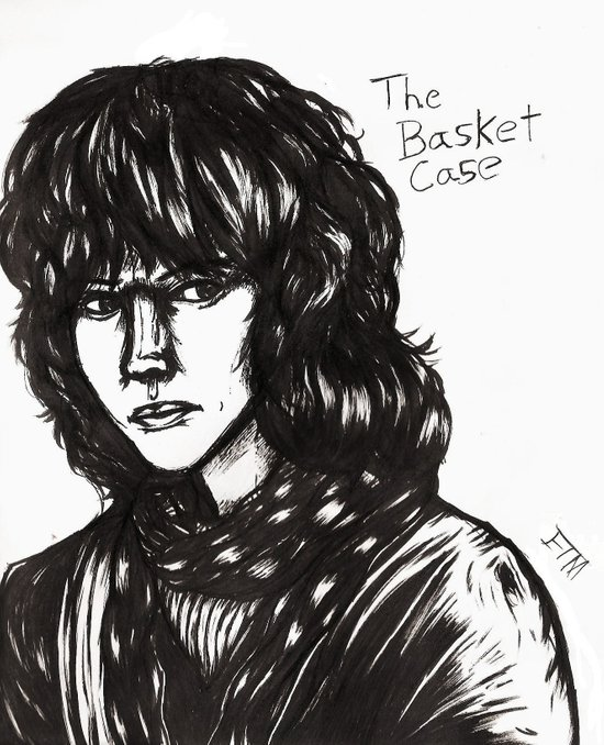 The Basket Case Art Print