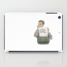 Virginia Woolf Quote iPad Case