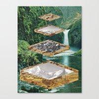 Four Landscapes Canvas Print