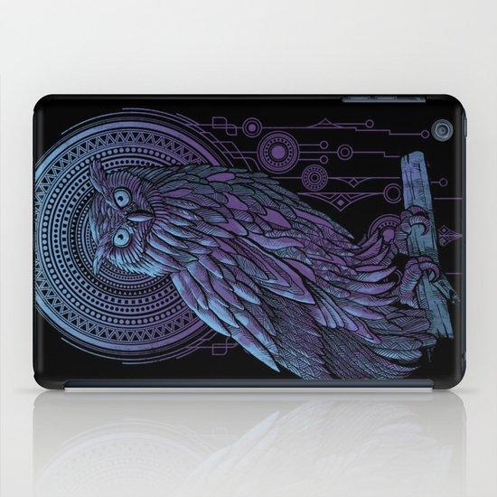Owl Nouveau II iPad Case