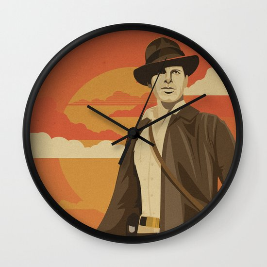 The Archeologist Wall Clock