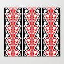 Maori Kowhaiwhai Traditional Pattern  Canvas Print
