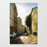 Montmartre Series 2 Canvas Print