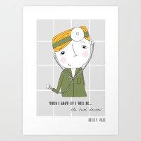 doctor Art Prints featuring Doctor by Rocio P. Vigne