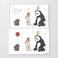 Everybody Deserves A Bal… Canvas Print