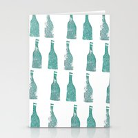 Ten Green Bottles Stationery Cards