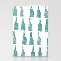 ten green bottles Stationery Cards